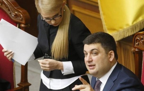 Grojsman odkazuje Rusku: Vezmite si Tymošenkovú, peniaze nedostanete!