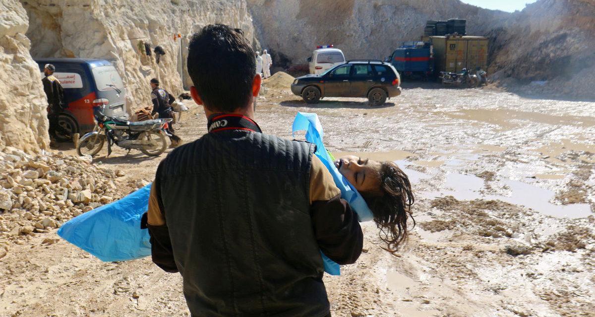 Smrtiaci plyn v Idlibe pochádzal zo zbrojného skladu rebelov | Pravda.sk
