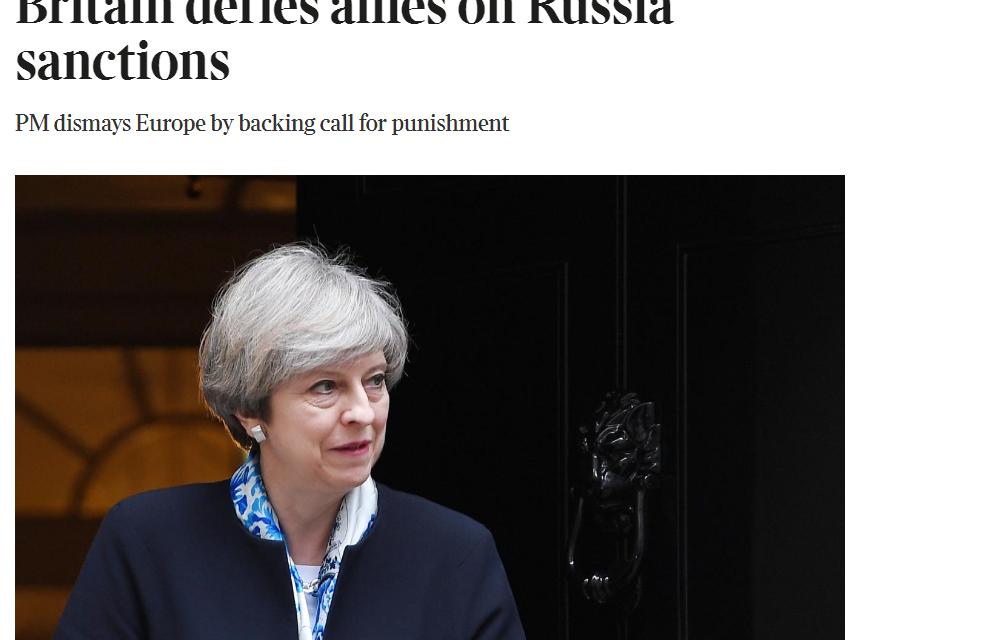 Times: Voči plánom Londýna na nové sankcie sa Európa zatvárila studeno
