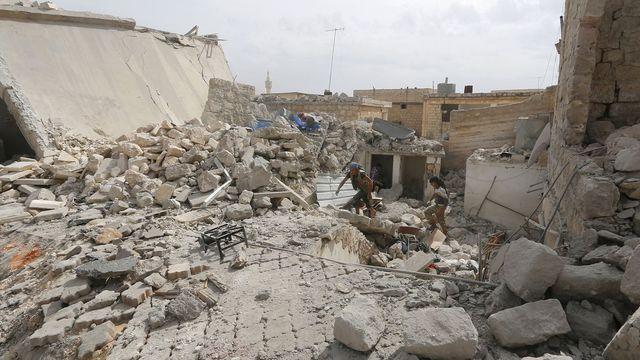 AKTUÁLNĚ.CZ: Počas piatkového náletu koalície vedenej USA zomrelo na východe Sýrie 80 ľudí
