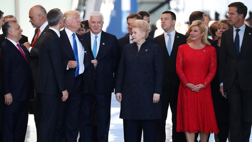 """TAGESSCHAU: Pán """"nepredvídateľný"""" opäť zúril. Reč je o Trumpovi a NATO"""