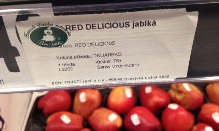 """VIDEO: Jablká s označením """"DOBRÉ JABLKÁ"""" 1.triedy- Viete čo jete?"""