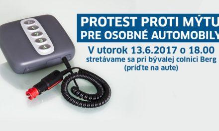SLOVENSKÁ POZÍCIA: Prečo je dobré podporiť protest Nechceme mýto na osobné automobily