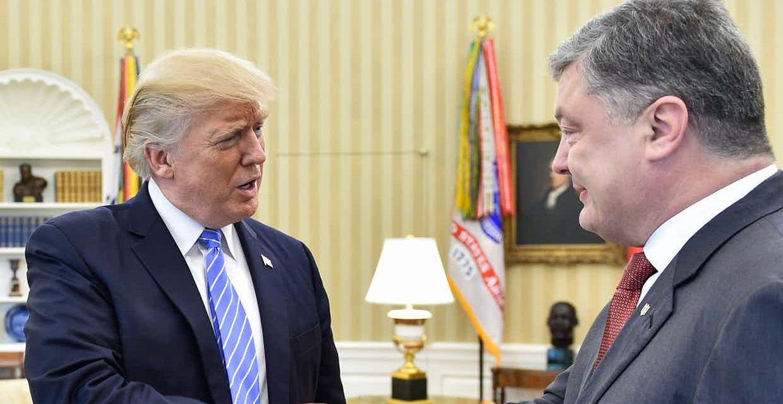 Trump vyjadril Ukrajine silnú podporu, uviedol Porošenko po stretnutí