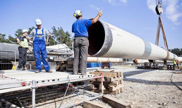 E15: Gazprom trvá na tom, že plynovod Nord Stream II posilní energetickú bezpečnosť. Už si zarezervoval kapacitu v Česku a Slovensku
