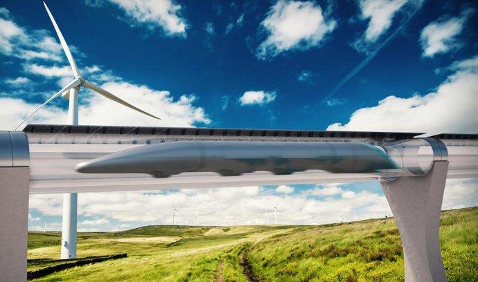 E15: Prvý Hyperloop má spojiť Amsterdam a Paríž už v roku 2021