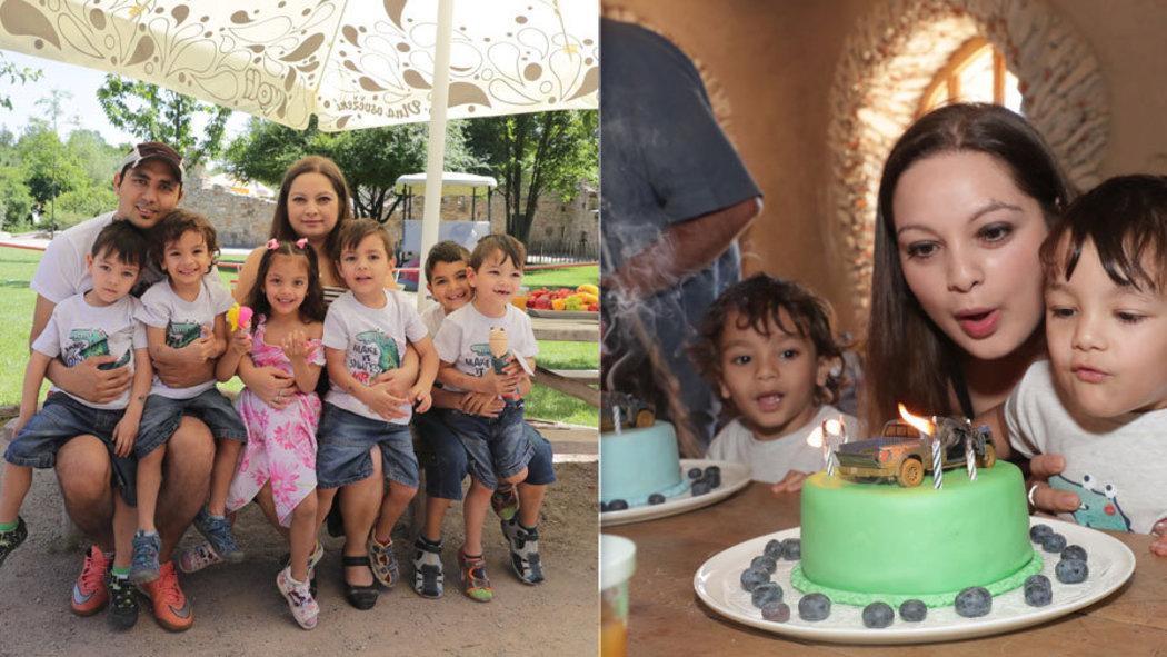 BLESK: Pätorčatá oslávili narodeniny. Otec ich po štyroch rokoch nerozozná