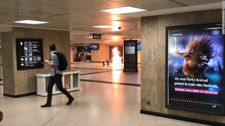 VIEME PRVÍ A VČAS: V Belgicku sa pokúsil na stanici odpáliť terorista s výbušninou