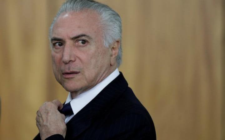 THE TELEGRAPH: Brazílsky prezident bol obvinený z korupcie