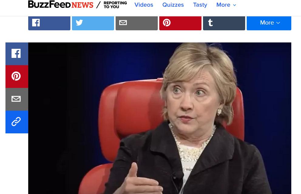 """BuzzFeed: Hillary Clintonová uviedla, že je presvedčená, že ruskí hackeri nemohli ovplyvniť voľby v USA bez toho, aby boli """"vedení Američanmi"""""""
