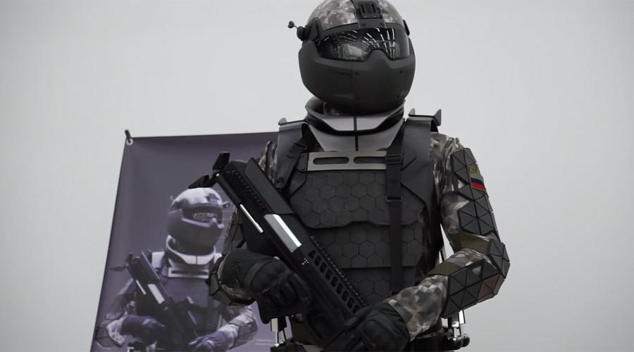 Ruské vojenské laboratórium odhalilo prototyp bojového obleku  ako zo Star Wars (VIDEO)