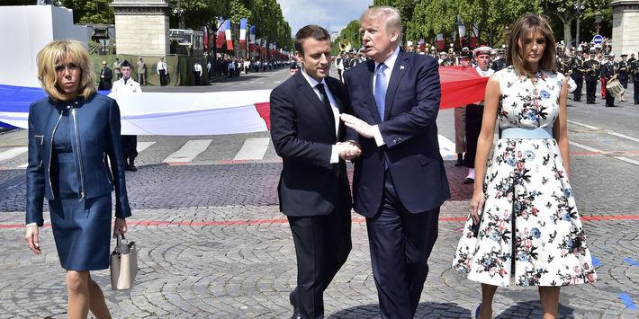 Macron prehováral Trumpa k návratu ku klimatickej dohode