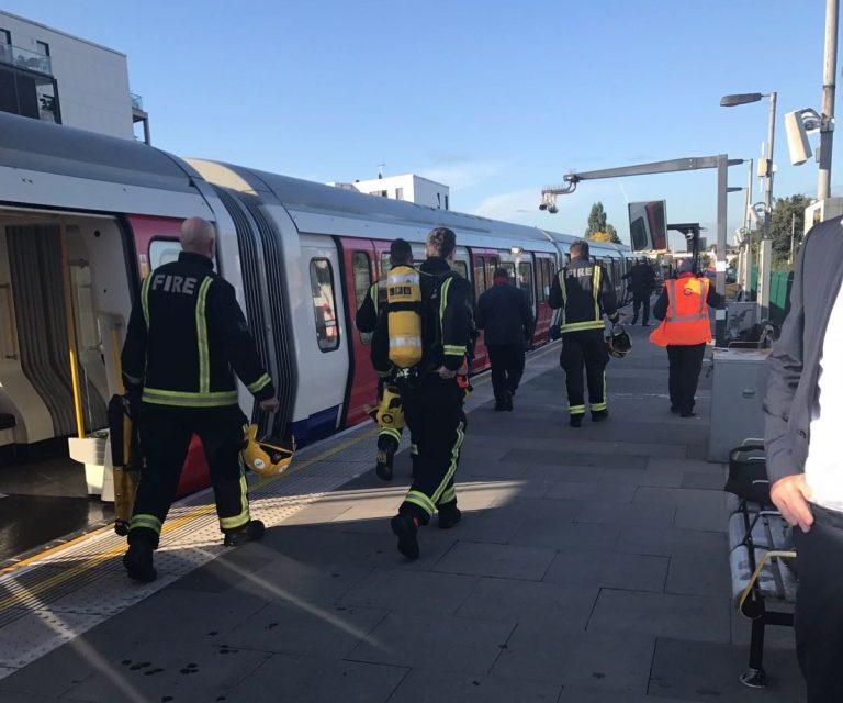 Výbuch v londýnskom metre