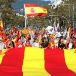 V Barcelone protestovalo 300-tisíc ľudí  proti nezávislosti Katalánska