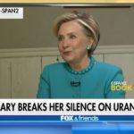 Uránový obchod Hillary Clintonovej s Ruskom je tak rádioaktívny, že ho žiadne médium nechce komentovať