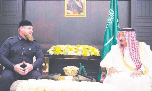 Kadyrov: Stretol som sa so saudským kráľom