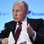 Vystúpenie ruského prezidenta Vladimira Putina v rámci XIV zasadnutia diskusného klubu Valdai 2017