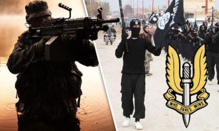Britská skupina SAS zneškodnila 15 džihádistov ISIS len pár sekúnd predtým, než zabili kresťanskú rodinu