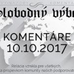 Komentáre 10.10.2017