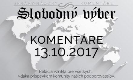 Komentáre 13.10.2017