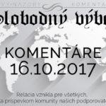 Komentáre 16.10.2017