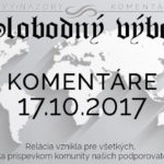 Komentáre 17.10.2017