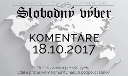 Komentáre 18.10.2017