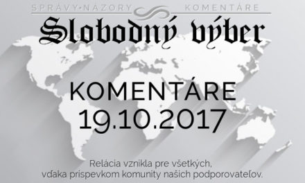 Komentáre 19.10.2017