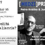 [MEDZI]Priestor – NATO – prežitá obranná aliancia?
