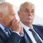 ČESKO PO VOĽBÁCH: Zeman má rakovinu, zostáva mu pár mesiacov života, tvrdil politik. Hrad ho zažaluje