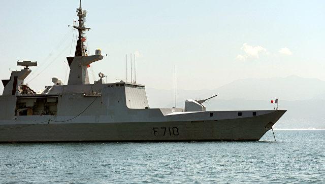 Francúzska fregata La Fayette sa nemohla kryť pred radarmi Čiernomorskej flotily