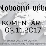 Komentáre 03.11.2017