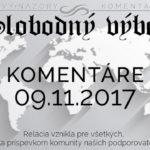 Komentáre 09.11.2017