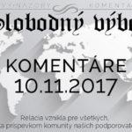 Komentáre 10.11.2017
