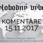 Komentáre 15.11.2017