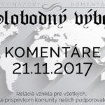 Komentáre 21.11.2017