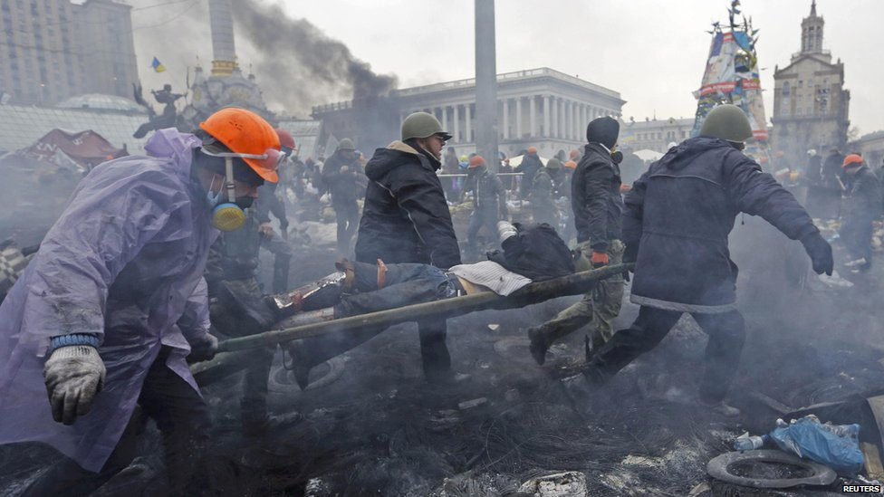 IL GIORNALE: Masaker na Majdane v Kyjeve spôsobili opozíciou zaplatení Gruzínci