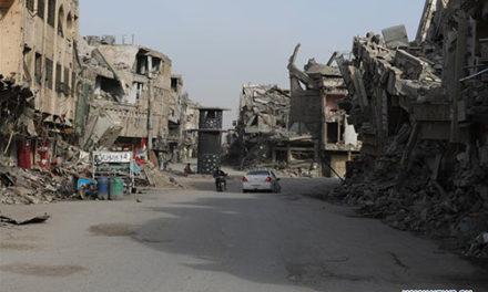 Pol roka po oslobodení, je Mosul stále v ruinách