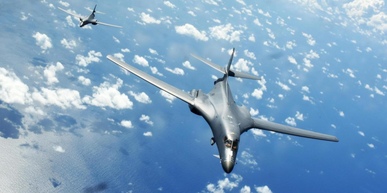 USA vyslali nad Kóreou bombardér B-1B