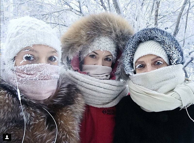 Ruské Jakutsko zažíva zimu. Ale fakt poriadnu