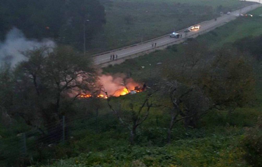 MIMORIADNA SPRÁVA: Sýria tvrdí, že zostrelila izraelské lietadlo F-16
