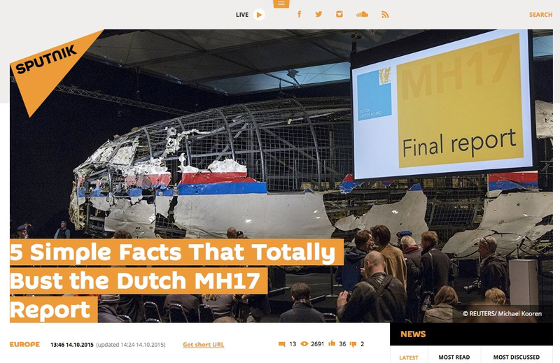 EU Observer: Holandskí poslanci žiadajú umlčať stránku o ruskej propagande. Falšuje informácie.