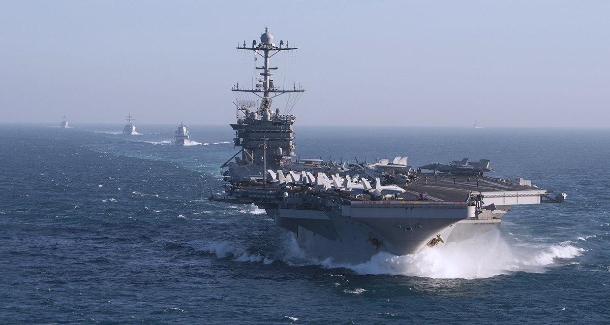 MIMORIADNA SPRÁVA: Lietadlová loď Harry Truman ostane zrejme v Stredozemnom mori, aby čelila Rusom