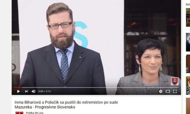 Predstavitelia strany Progresívne Slovensko vítajú odsúdenie Milana Mazureka ako aj okliešťovanie slobody slova všeobecne.