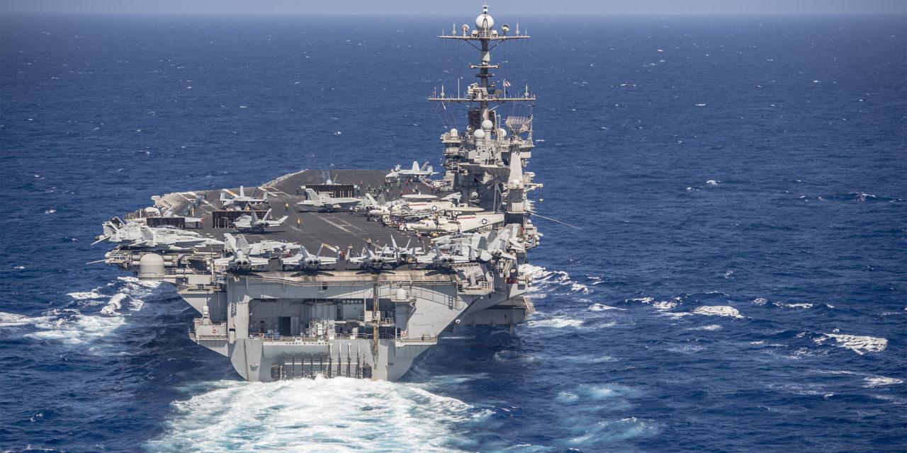 Úderná skupina lietadlovej lode USS Harry Truman je už v Stredozemnom mori: Show will go on!