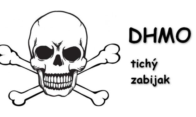 DHMO – látka, ktorá je 100% návyková, je hlavnou súčasťou kyslých dažďov