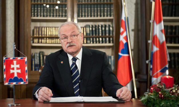 Posledný príhovor Ivana Gašparoviča