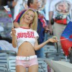 Najsexi fanúšička na majstrovstvách sveta vo futbale, si svoj titul skutočne zaslúži
