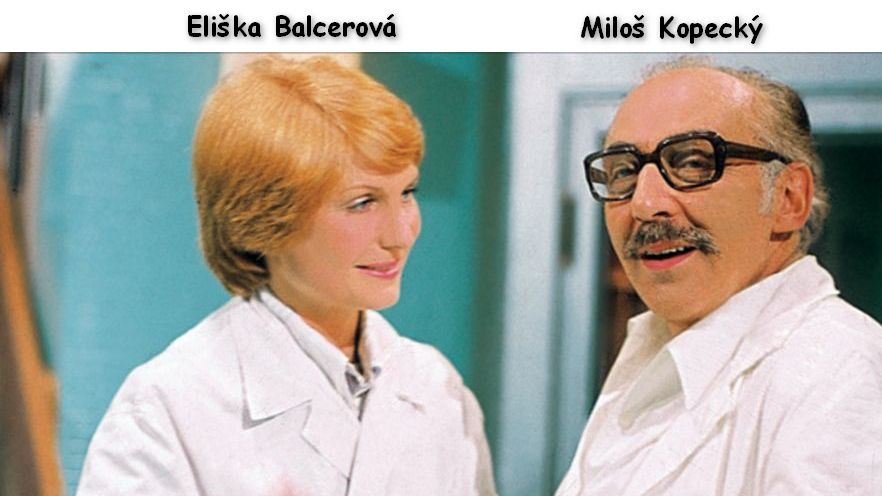Herečke Balcerovej sa po roku 1968 začala ruština hnusiť