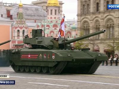 """Nová úroveň """"maskirovky"""": Aby Rusi zamaskovali, že krachujú, začali dodávať armáde tanky Armata"""